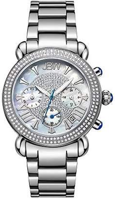 JBW Women's JB-6210-160-A Victory Stainless Steel 1.5-Carat Diamond Watch