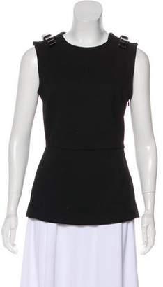 Fendi Wool-Blend Sleeveless Top
