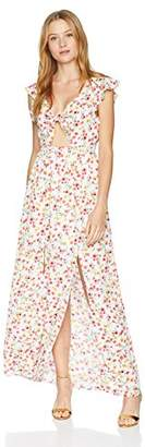 Jack by BB Dakota Junior's Brylee Floral Printed Maxi Dress