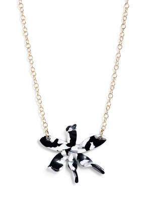 Lele Sadoughi Water Lily Necklace