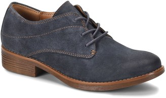 Comfortiva Lace-Up Leather Artisan Oxfords - Tolla