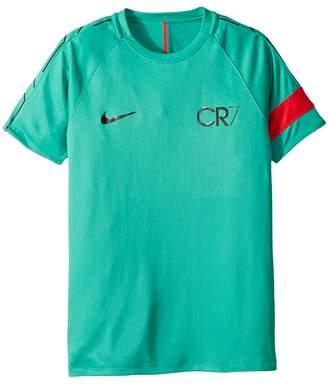 Nike CR7 Dry Academy Short Sleeve Top Boy's T Shirt