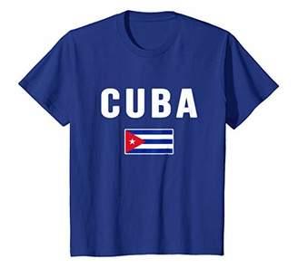Cuba T-shirt Cuban Flag