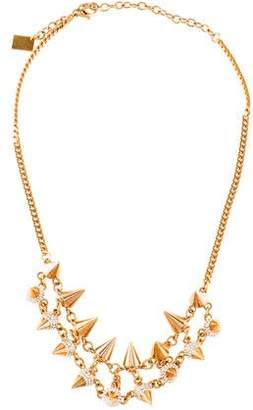 Vita Fede Double Row Spike Necklace