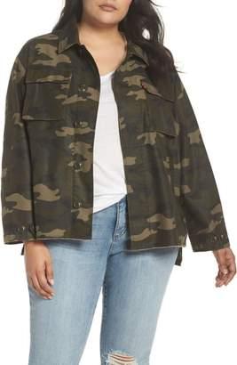 Levi's High/Low Shirt Jacket
