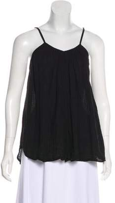 Hatch Plissé Sleeveless Top
