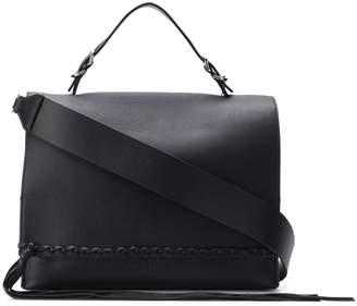 Calvin Klein fringed tote bag