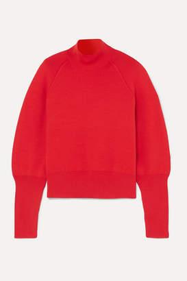 Acne Studios Kelenor Wool Turtleneck Sweater - Red