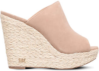 MICHAEL Michael Kors Hastings suede wedge sandals