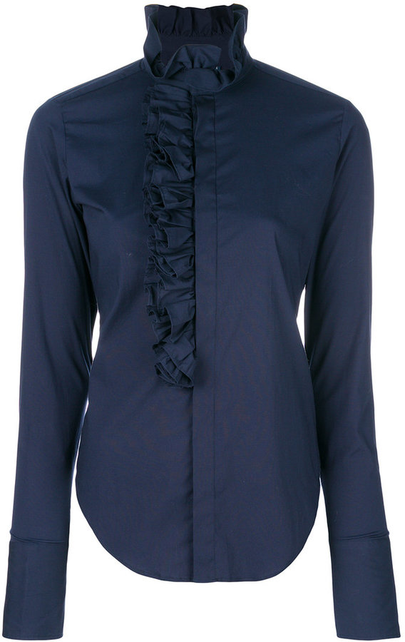 Ralph Lauren ruffled shirt