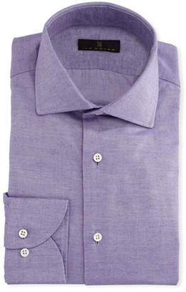 Ike Behar Gold Label Cotton-Cashmere Dress Shirt