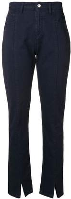 MSGM slit trousers