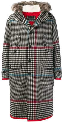 Tommy Hilfiger houndstooth coat