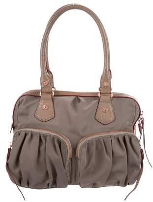 MZ Wallace Leater Trim Shoulder Bag