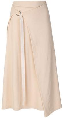 Joseph adjustable-waist midi skirt