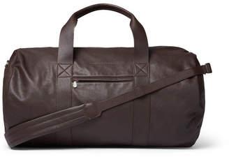 Brunello Cucinelli Full-Grain Leather Holdall