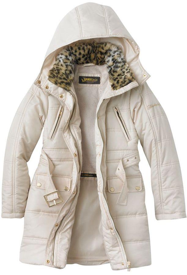 Hawke & Co puffer jacket - girls 7-16