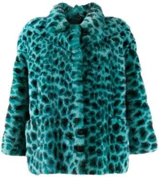 Simonetta Ravizza animal print jacket