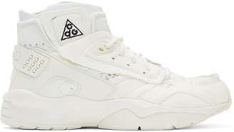 Comme des Garcons White Nike ACG Edition Air Mowabb Sneakers