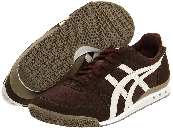 Onitsuka Tiger by Asics Ultimate 81 CV (Brown/Off White) - Footwear