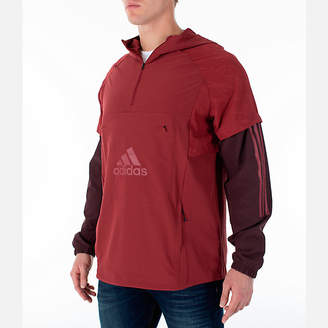 adidas Men's Athletics ID Woven Anorak Shell Wind Jacket