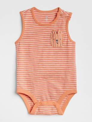Gap Stripe Critter Bodysuit