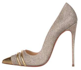 Christian Louboutin Pigalle Glitter Pumps
