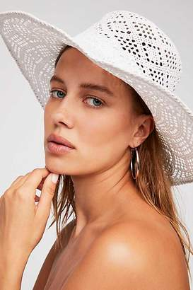 Shadow Play Sun Freckle Straw Hat