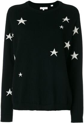 Parker Chinti & star knit cashmere jumper