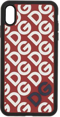 Dolce & Gabbana Black Mania Logo iPhone XS Max Case