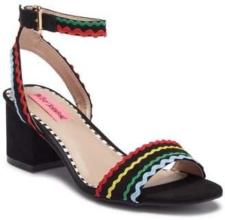 Betsey Johnson Farrah Ankle Strap Sandal