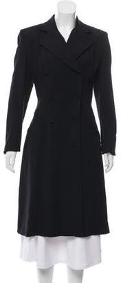 Yigal Azrouel Double-Breasted Long Coat