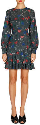 Cooper St Abella Long Sleeve Mini Dress
