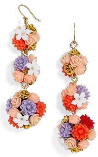 Women's Baublebar Flora Drop Earrings