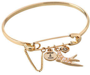 BCBGeneration Affirmation Charm Bangle Bracelet