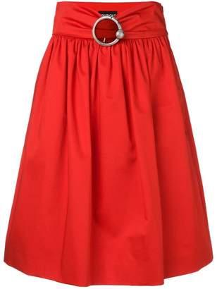 Moschino belted midi skirt