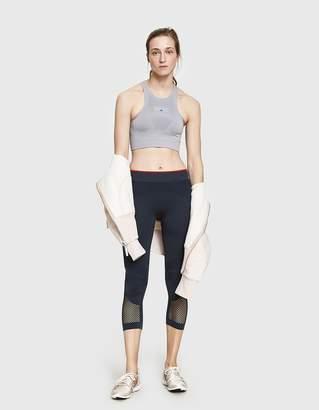 adidas by Stella McCartney Seamless Bra in Pearl Grey