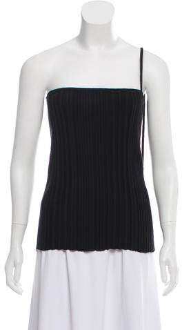Jacquemus Ribbed Halter Top w/ Tags