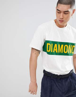 Diamond Supply Co. Elliot T-Shirt In Cream