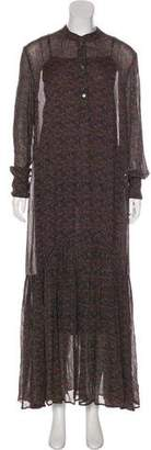 Isabel Marant Printed Maxi Dress w/ Tags