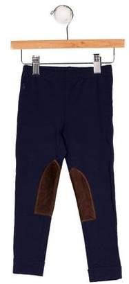 Ralph Lauren Boys' Patch-Accented Knit Leggings