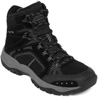 ST. JOHN'S BAY Mens Cobalt Hiking Flat Heel Lace-up Boots