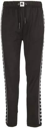Kappa Kontroll Side Logo Pattern Track Pants