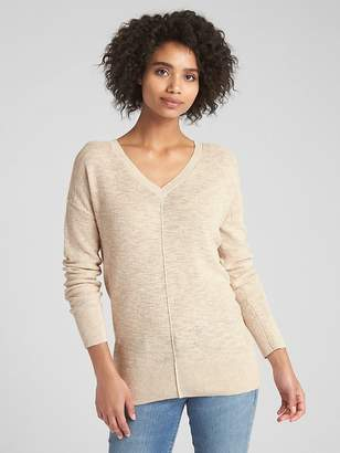 Gap Pullover V-Neck Sweater Tunic
