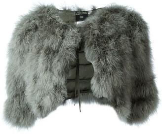 Jean Paul Gaultier Pre-Owned marabou shrug jacket