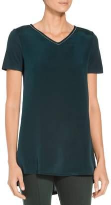 St. John Sleek Viscose Jersey T-Shirt