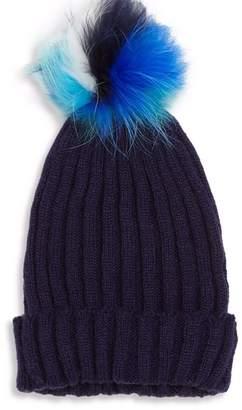 Bari Lynn Pom Pom Hat