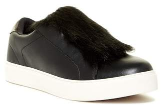 Aldo Craerien Faux Fur Trimmed Slip-On Sneaker