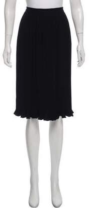 Co Pleated Knee- Length Skirt w/ Tags