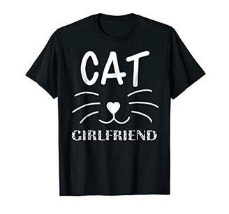 Cat Girlfriend T-Shirt | Funny Cat Owner lover Gift Tee